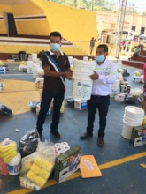 380 families have received Food and Hygiene Kits