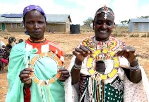 Joyce (Pokot) and Ester (Samburu) will share a cow