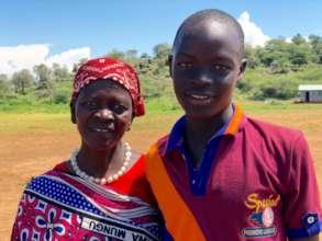Rael Chepochepos & her son Poghishio