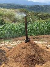 Producing organic fertilizer