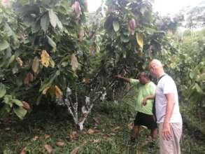 Visit of agricultural expert