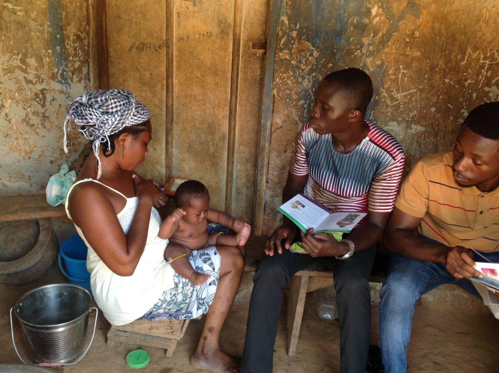 Prevent malnutrition for 50 newborns in Ghana