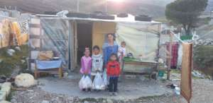 Aid delivery in Gjirokaster