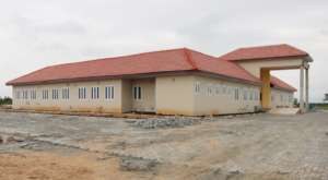 The side view of our permanent campus