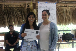 Paty is our nutritionist in Los Altos, Chiapas