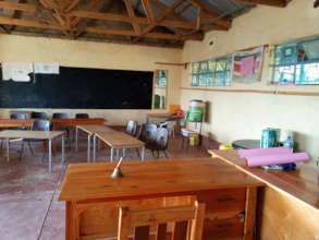 Empty classrooms since March