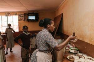 Kirunguru Special School feeding programme