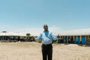 Head Teacher Samwel at Percy Davis Special school