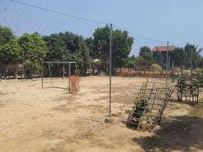 New Netting at HHC School