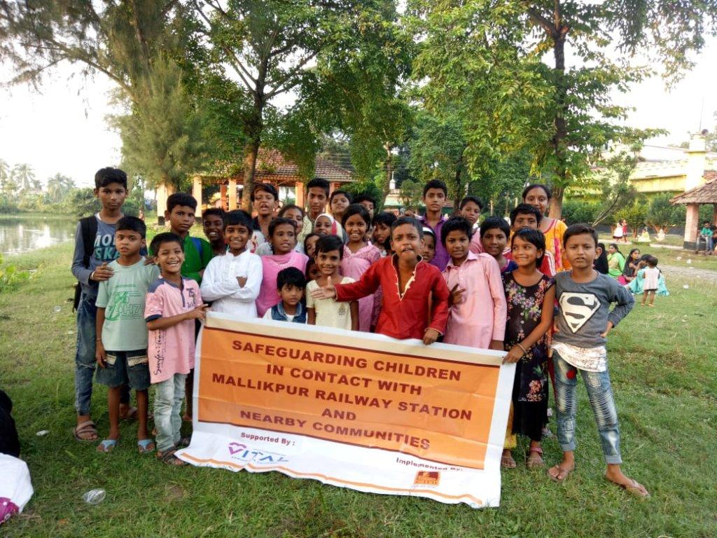 Protect Vulnerable Railway Children in Kolkata