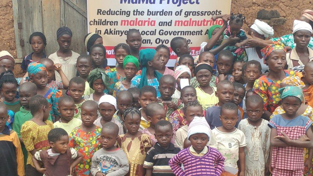 End malaria, malnutrition, save a child in Nigeria