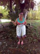 Grandmother of the forest: Maria Luisa