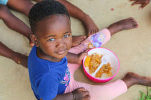 Lunch time at our ECD Programme