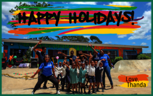 Happy Holidays from all of us to you!