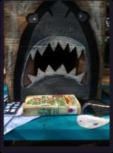 Everyone played Shark Detective and Shark Target