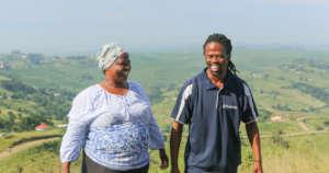 Mrs. Ngcobo and Sandile Dlamini