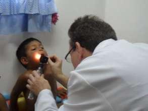 Health care for 120 children of Bambi Venezuela
