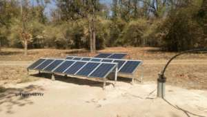 Solar Powered Bore-Hole Pump
