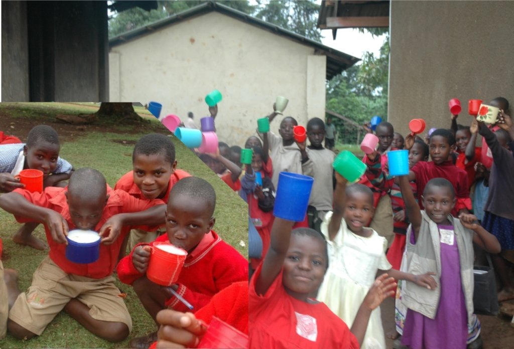 DONATE A CUP OF PORRIDGE MEAL FOR A NEEDY CHILD