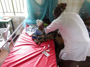 Malaria Testing of Baby