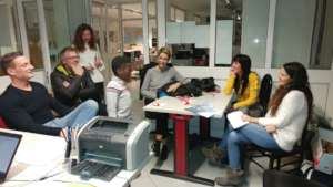 with Simona, Luca and Bolo