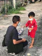 Feed 1275 slum dwellers for a year in Thailand