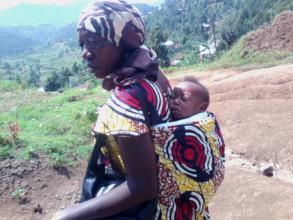 Akim with his Grandma