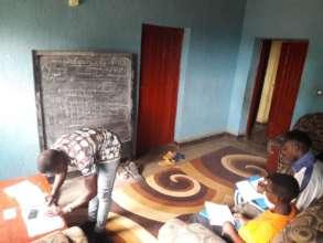 High School students in home schooling