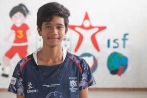 Vatanak, ISF state school student