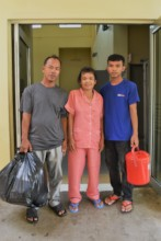 Tep and her family discharge from SHCH