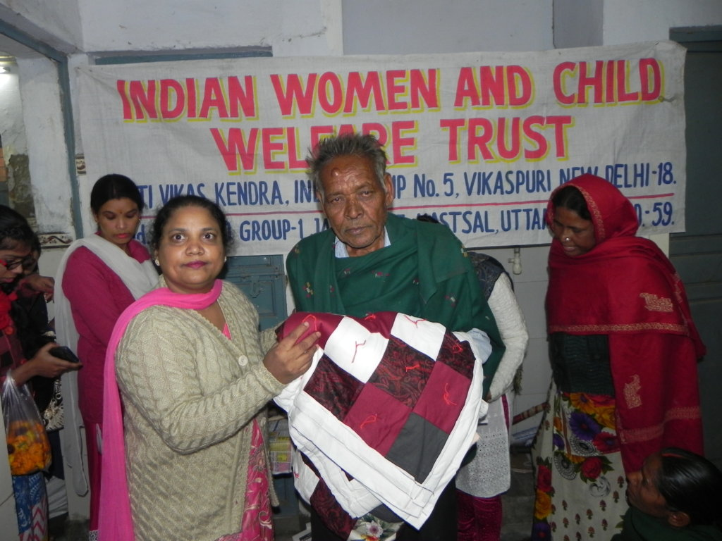 Quilts and blankets for underprivileged families