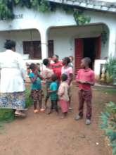 JRCCA Executive Director teaching Children
