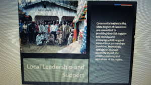 Local Leadership support JRCCA Projects