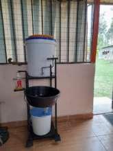 Indoor handwasher