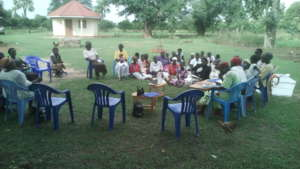 Group focus discusion at Arapai Sub County