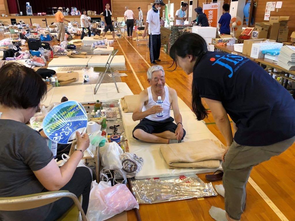 Flood Relief in Okayama