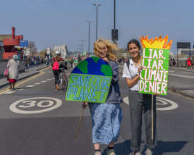 Save Our Planet -- Waterloo Bridge,15 Apr 2019
