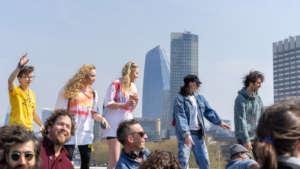 Dancing for the Planet Waterloo Bridge,15 Apr 2019