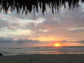 Canoa's Beautiful Beach