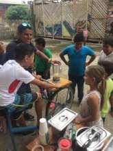 The kids loved the blender-bike!