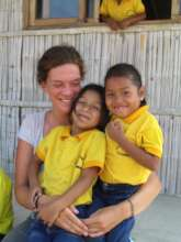 Students with Volunteer