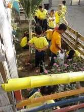 Students in School Garden
