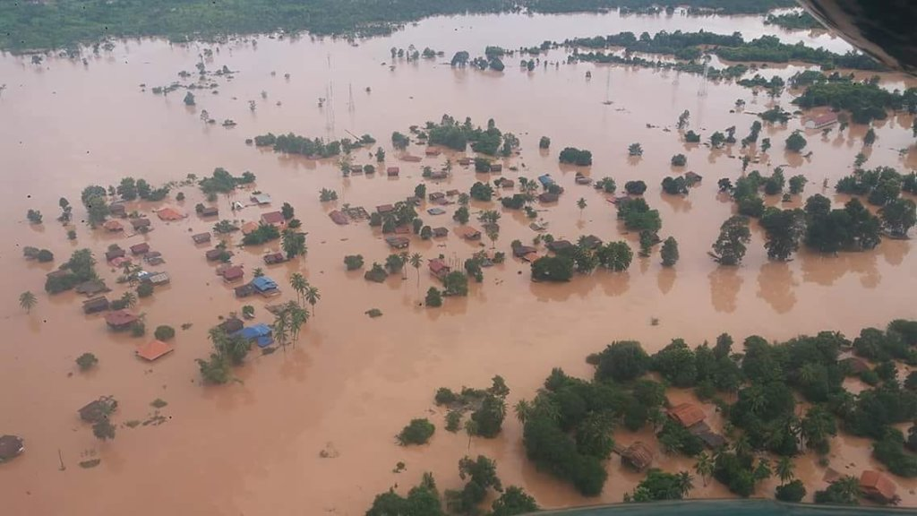 Emergency response to devastating floods in Laos