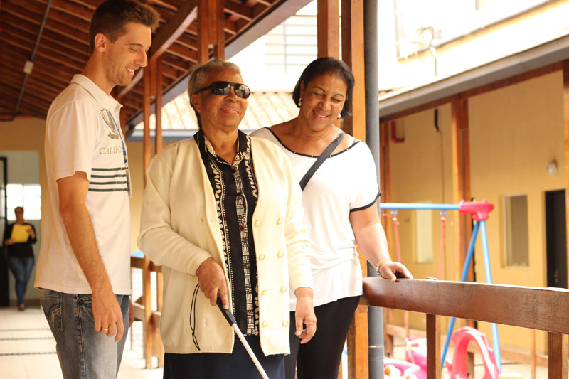 Help improve blind people's lives in Brazil