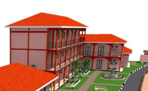 3-D School Plans