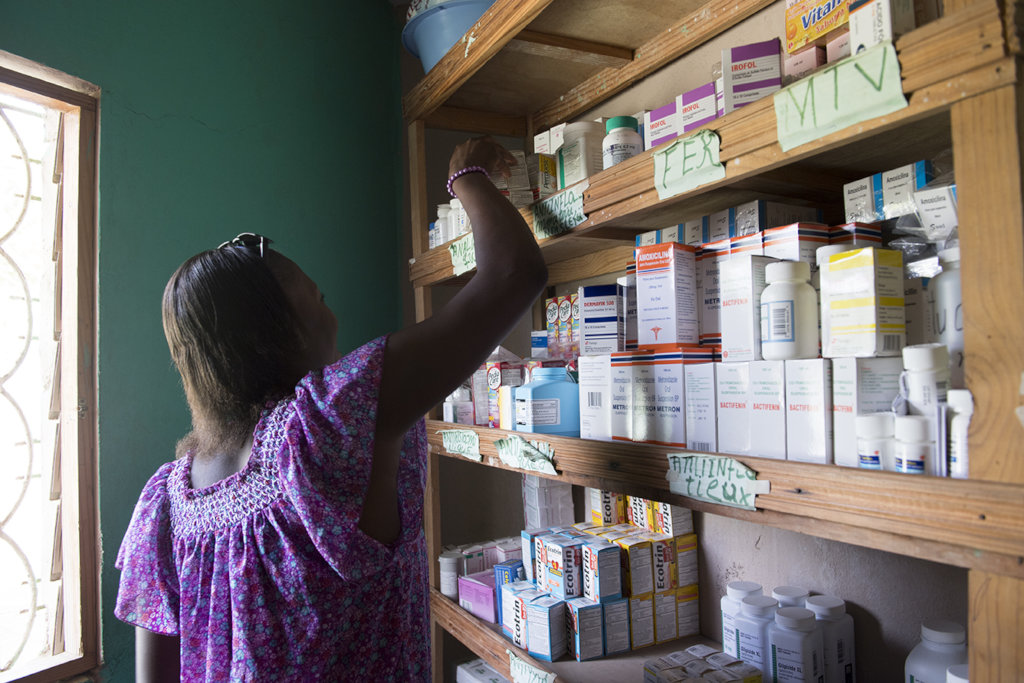 Supplies for Haitian Health-Care Facilities