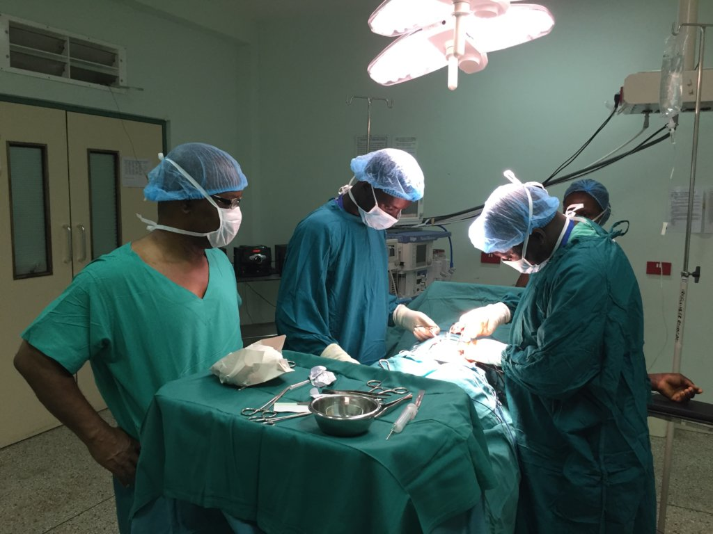 Train surgical care providers in Ghana