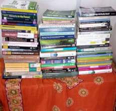 Books donated to our research resource centre