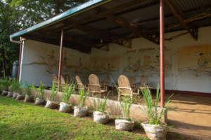 Outdoor Sitting Shed, CPAR Uganda Lira LC