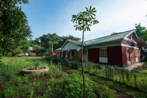 Wide view of CPAR Uganda Lira Learning Centre (LC)